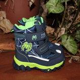 Зимние термо ботинки, сноубутсы Солнце до - 25С