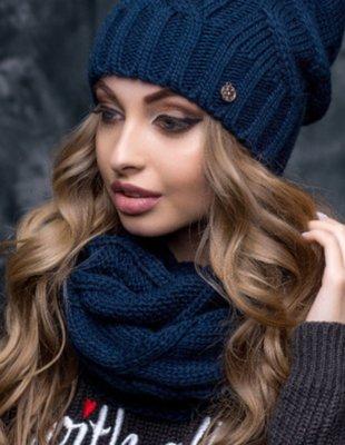 кросівки магазин кращих продавців купити Снуд Палермо Flirt синий: 240 грн - шапки зимние, демисезонные в ...