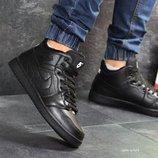 Зимние мужские кроссовки Nike Air Jordan black 6908