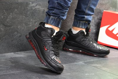 the latest 61370 a6527 Зимние мужские кроссовки Nike Air Max 98 black/red