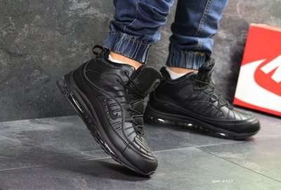 Зимние мужские кроссовки Nike Air Max 98 black