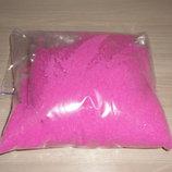Цветной песок для декора Розовый