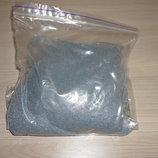 Цветной песок для декора Серый