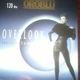 Шикарные элитные супер плотные итальянские колготы Oroblu Overlook 120