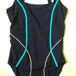 14-16 л-хл m&s стильный спортивный цельный купальник для бассейна