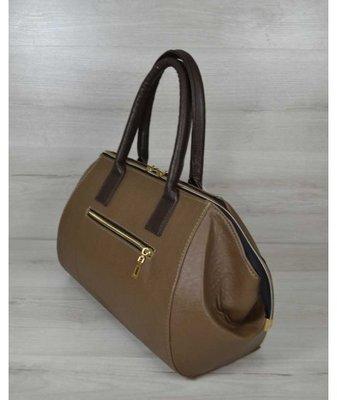 e9fadef6726a Классическая женская сумка Оливия кофейного цвета: 445 грн - деловые ...
