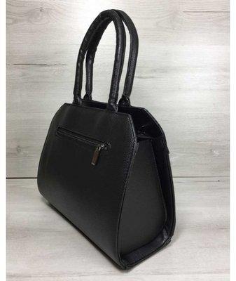 ae24d071de43 Женская сумка Конверт черного цвета со вставкой черная кобра. Previous Next