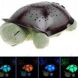 Проектор звездного неба Черепаха, ночник с музыкой