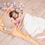 Котик капучино - спальный мешок детский / слипик