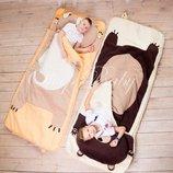 Медведь - детский спальный мешок, слипик, спальник