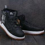 Мужские зимние кроссовки Nike Aiir Force 3 цвета
