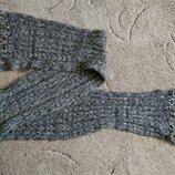 Брендовий шарф чоловічий в'язаний з бахромою Німеччина мужской