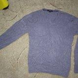 Брендовий светр чоловічий кофта акрилова George S-L Великобританія свитер мужской