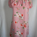 Легкое платье с открытыми плечами primark 12р