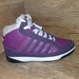Зимние женские ботинки restime в стиле adidas р. 37 и 40 полномерные натуральная кожа
