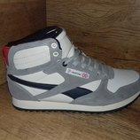 Зимние ботинки кроссовки мужские restimе на меху натуральный замш р. 42 и 43