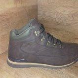 Зимние мужские ботинки restime р. 41-46 полномерные жёлтые, чёрные, коричневые