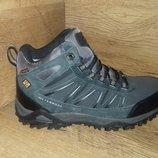 Зимние ботинки кроссовки мужские baas на меху натуральный замш, нубук р. 41-46