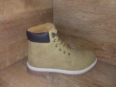 Ботинки зимние restime в стиле timberland размеры 36-41 полномерные 3 цвета