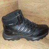 Зимние мужские ботинки кроссовки великаны bona натуральная кожа р.41-46