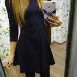 Платье сарафан сукня платице черное колокольчик Pull&Bear