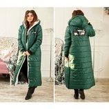 Пальто стеганое Канада , размеры 42-44,46-48