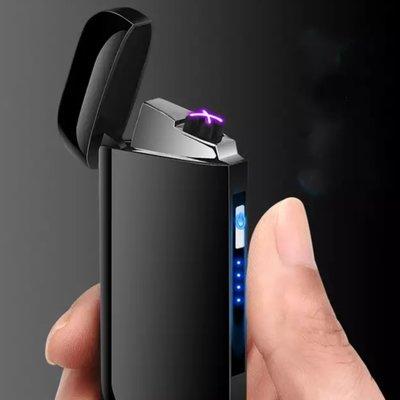 Подарочная электроимпульсная юсб USB зажигалка на две дуги