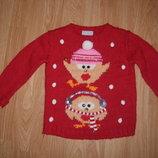 Кофта, свитер, Next, 3 года, 98 рост