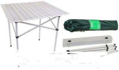 Раскладной туристический стол, Складной стол для сада и огорода. Польша. Ok