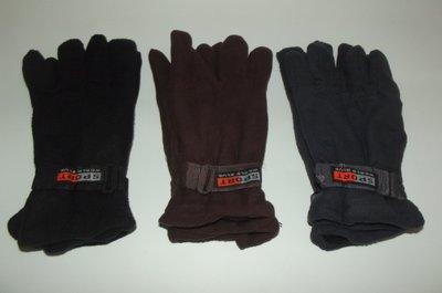 Перчатки мужские теплые двойной флис.