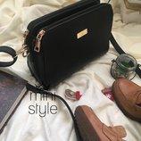 Сумка на длинной ручке cross-body сумочка трендовая и стильная кроссбоди