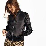 Стильная женская куртка бомбер от esmara. модная коллекция от хайди клум р.36 евро