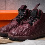 Зимние кроссовки Nike LF1 Duckboot, бордовые