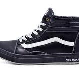 Зимние ботинки Vans 40.41.42.43 размер, кожа, мех, Украина/польша