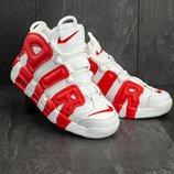 Кроссовки мужские Nike Air More Uptempo 96 white/red