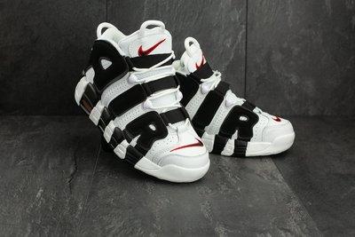 Кроссовки мужские Nike Air More Uptempo 96 white/black
