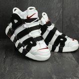 Кроссовки мужские Nike Air More Uptempo 96 white/black