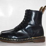 Ботинки DR. MARTENS 1460 BLACK SMOOTH р.40-41 original ENGLAND