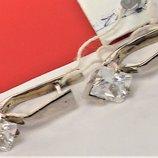 Серьги новые серебро 925 проба 3,43 грамма
