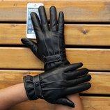 Перчатки утепленные для сенсорных экранов черные код 109