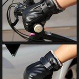 Очень теплые перчатки мужские черные код 103