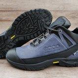 3 расцветки. Мужские зимние ботинки кроссовки Ecco NaturMotion