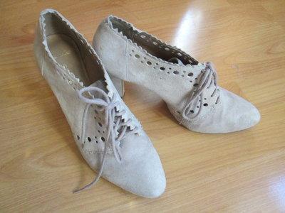 Ботинки , ботильоны Clarks натуральная замша.