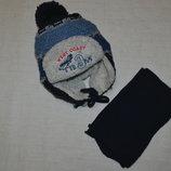 Набор шапка шарф.Польша Ambra Амбра