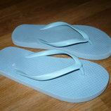 Вьетнамки голубые 37р.24см
