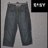 Брендові бріджі джинсові чоловічі Easy S Німеччина брюки джинсы мужские