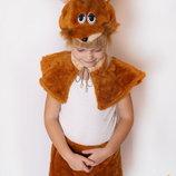 Карнавальный меховой костюм Белочка