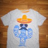 футболка F&F на 5-6 лет
