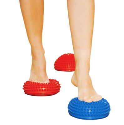 Полусфера массажная балансировочная для лечения профилактики плоскостопия для фитнеса