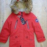Куртка-Парка Зимняя Для Мальчика. Grace .Венгрия.размеры 4,6,8,10,12 Лет